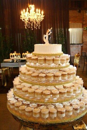 Dicas de Bolo de Casamento e Aniversario no Potinho sofisticado