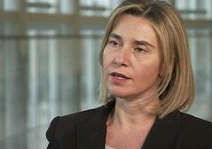 η ύπατη εκπρόσωπος της ΕΕ για τις Εξωτερικές Υποθέσεις, Φεντερίκα Μογκερίνι
