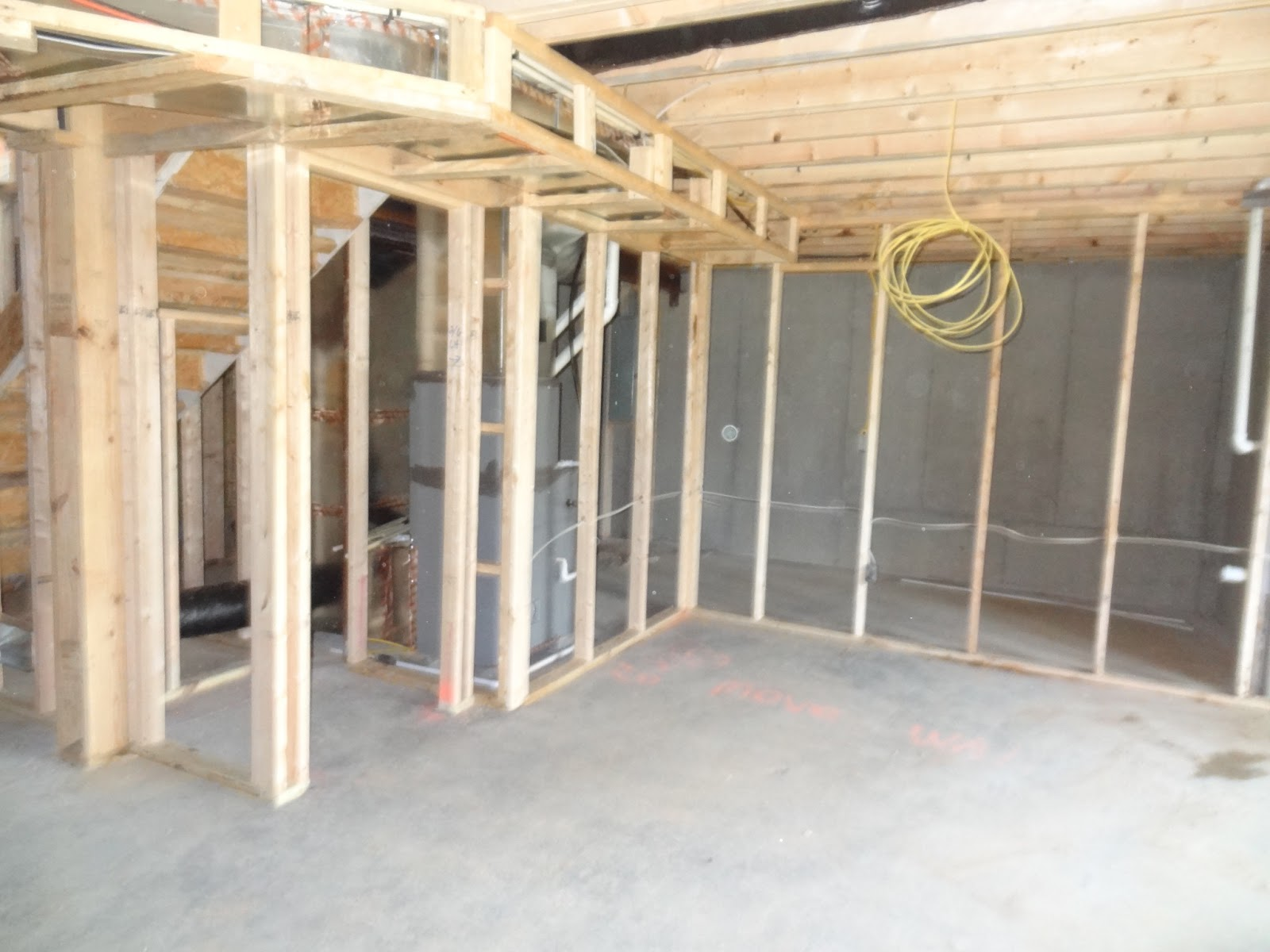 Lighting Basement Washroom Stairs: Building Our Ryan Homes Dunkirk: Lot Going On