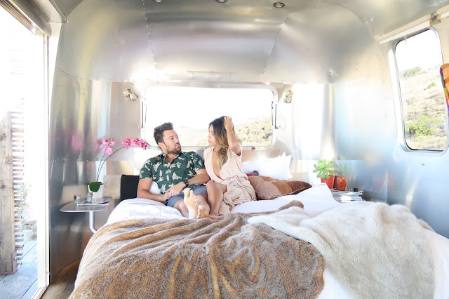 where to stay in malibu, dream airstream, anniversary vacation ideas