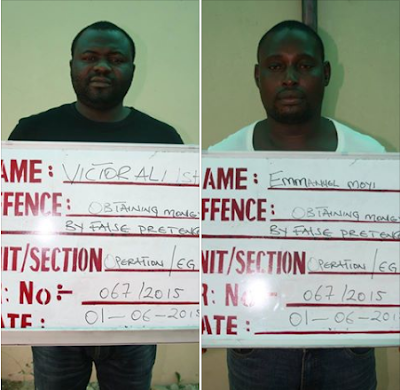 Kano court sentences two fraudsters to jail for 60 and 50 years respectively