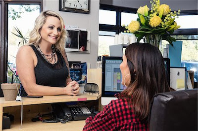 Hair Salon Receptionist Job Search