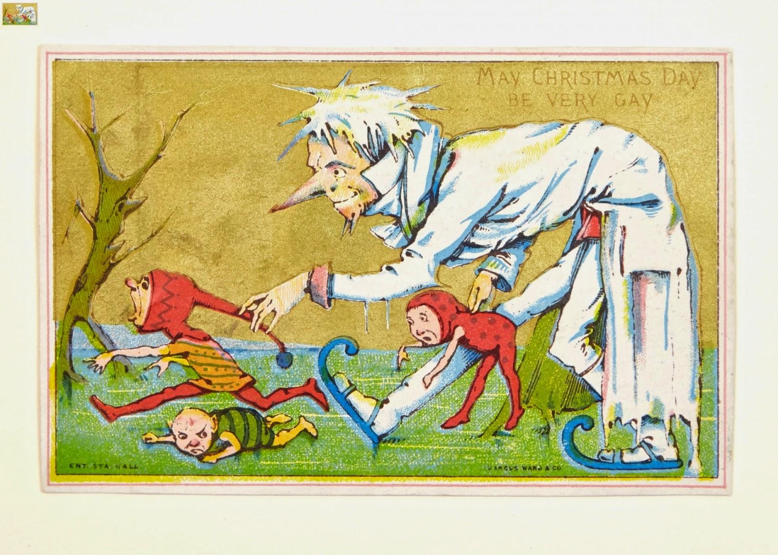 Nag on the Lake: Victorian Christmas Cards