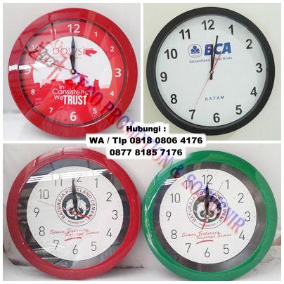 Jual Souvenir Jam dinding Quartz Termurah  270709e09b