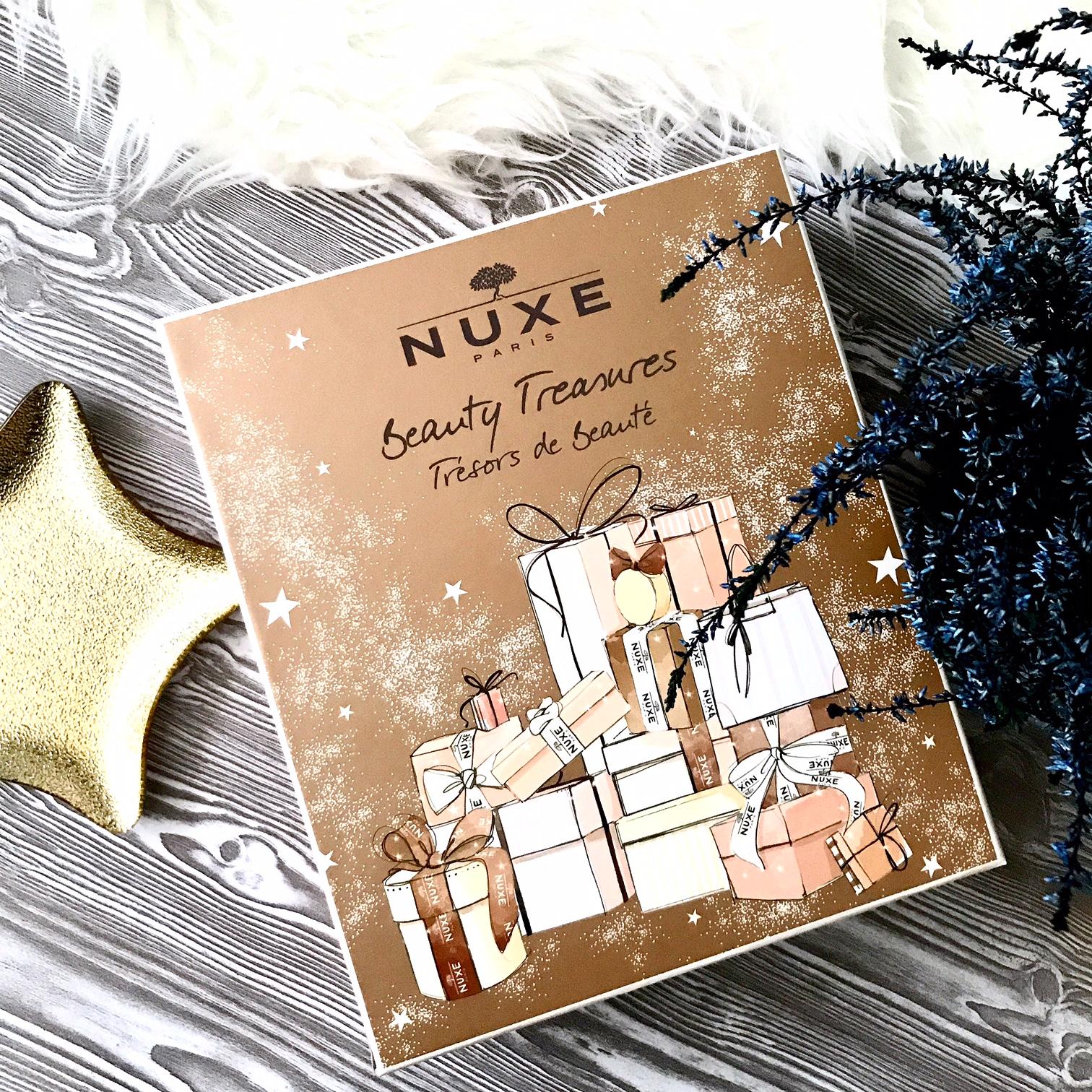zdjęcie na którym znajduje się Kalendarz Adwentowy Nuxe Beauty Treasures