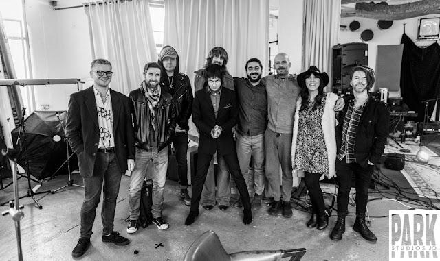 Brandy Row and the Coalition of Sound   Birmingham Recording Studio   Park Studios JQ   band
