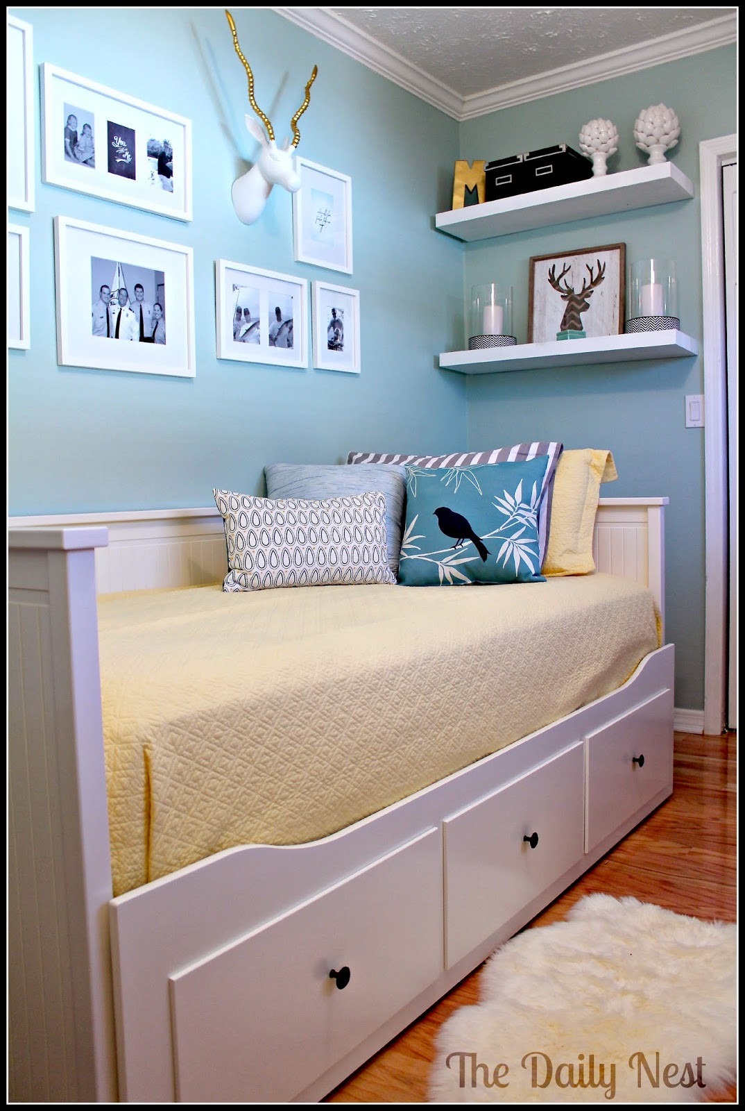 Craft Room Office Guest Room Combo