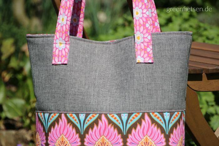 Einkaufstasche - genäht für ein Geburtstagskind, das Rosa liebt