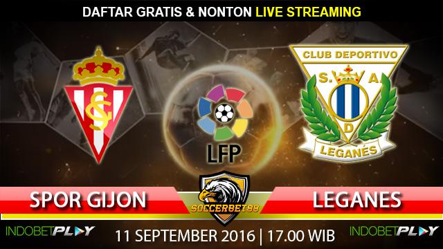 Prediksi Sporting Gijon vs Leganes 11 September 2016 (Liga Spanyol)