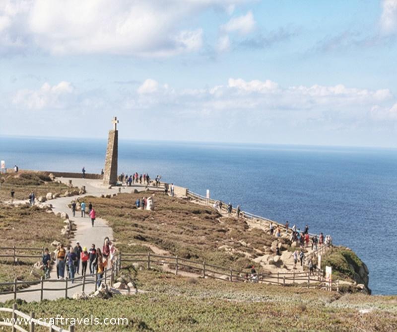 Przyladek Cabo da Roca, Cabo da Roca kraniec Europy, Gdzie ląd się kończy, a morze zaczyna