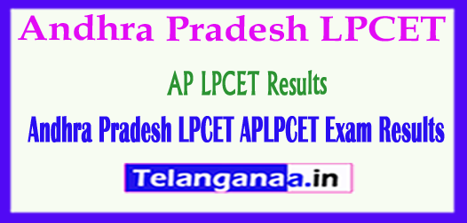 Andhra Pradesh LPCET APLPCET 2018 Exam Results Download