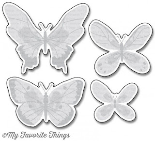 My Favorite Things Beautiful Butterflies Die-namics