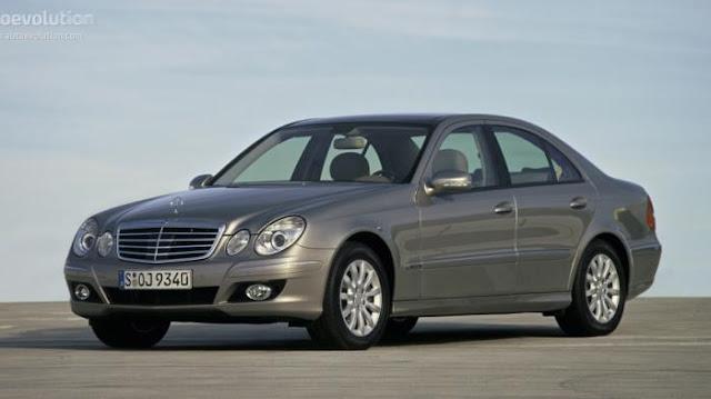 Ciri Ciri Mercedes Benz Bekas Taksi Blue Bird