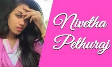 Nivetha Pethuraj Dubsmash Oru Naal Koothu Actress Tamil Dubsmash