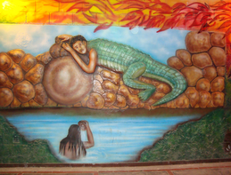 Leyendas Colombianas cortas el hombre caiman