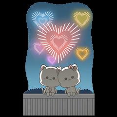 [大] 貓咪情侶 年末貼圖