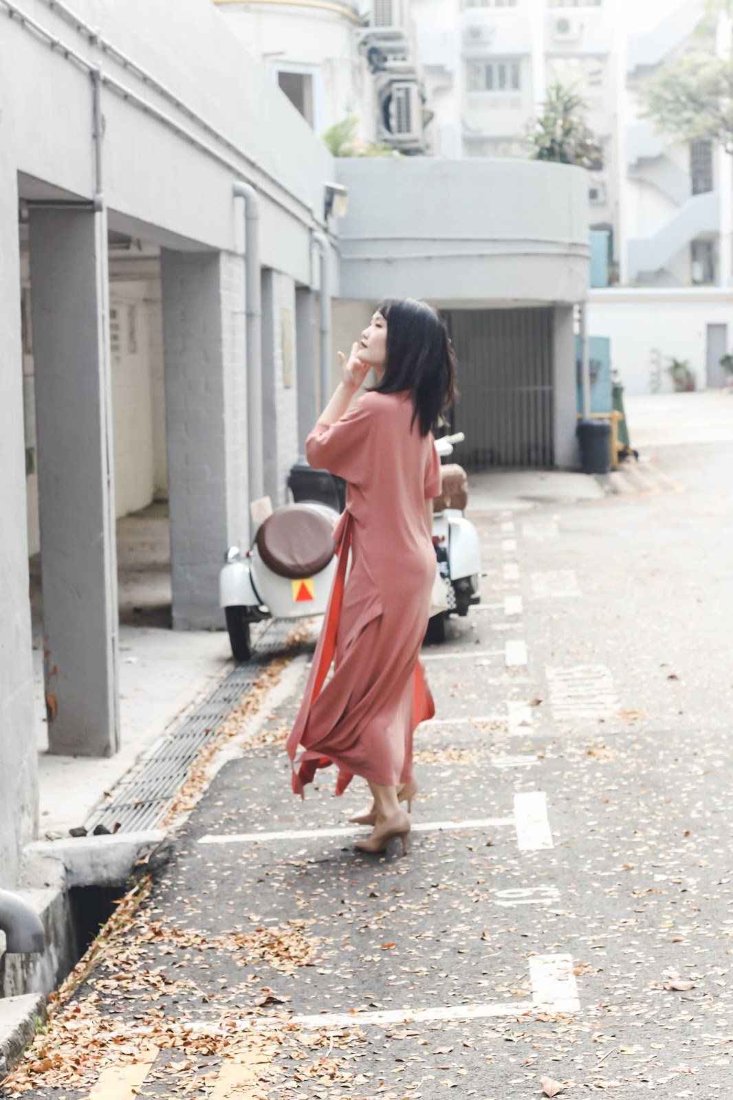 singapore blogger stylist fashion street photographer look book pink wiwt ootd how to style outfit