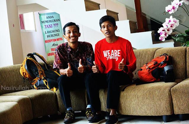 Bertemu dengan Travel Blogger kondang di Malang, mas Rifqy