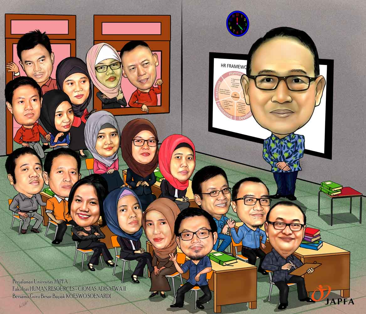 Jasa Karikatur Wajah Karikatur Digital Dan Manual 2016