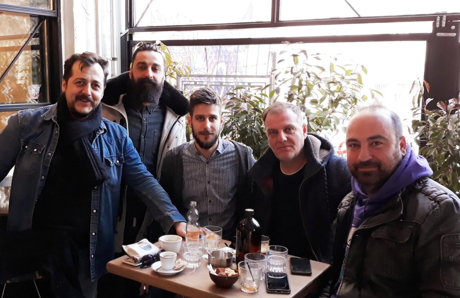 Συνάντηση του Νίκου Γαμβρούλα με το Δ.Σ. του Συνδέσμου ιδιοκτητών καφέ – μπαρ και καφετεριών ν. Λάρισας