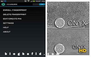Aplikasi android sidik jari