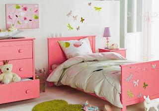 dormitorio tema mariposas
