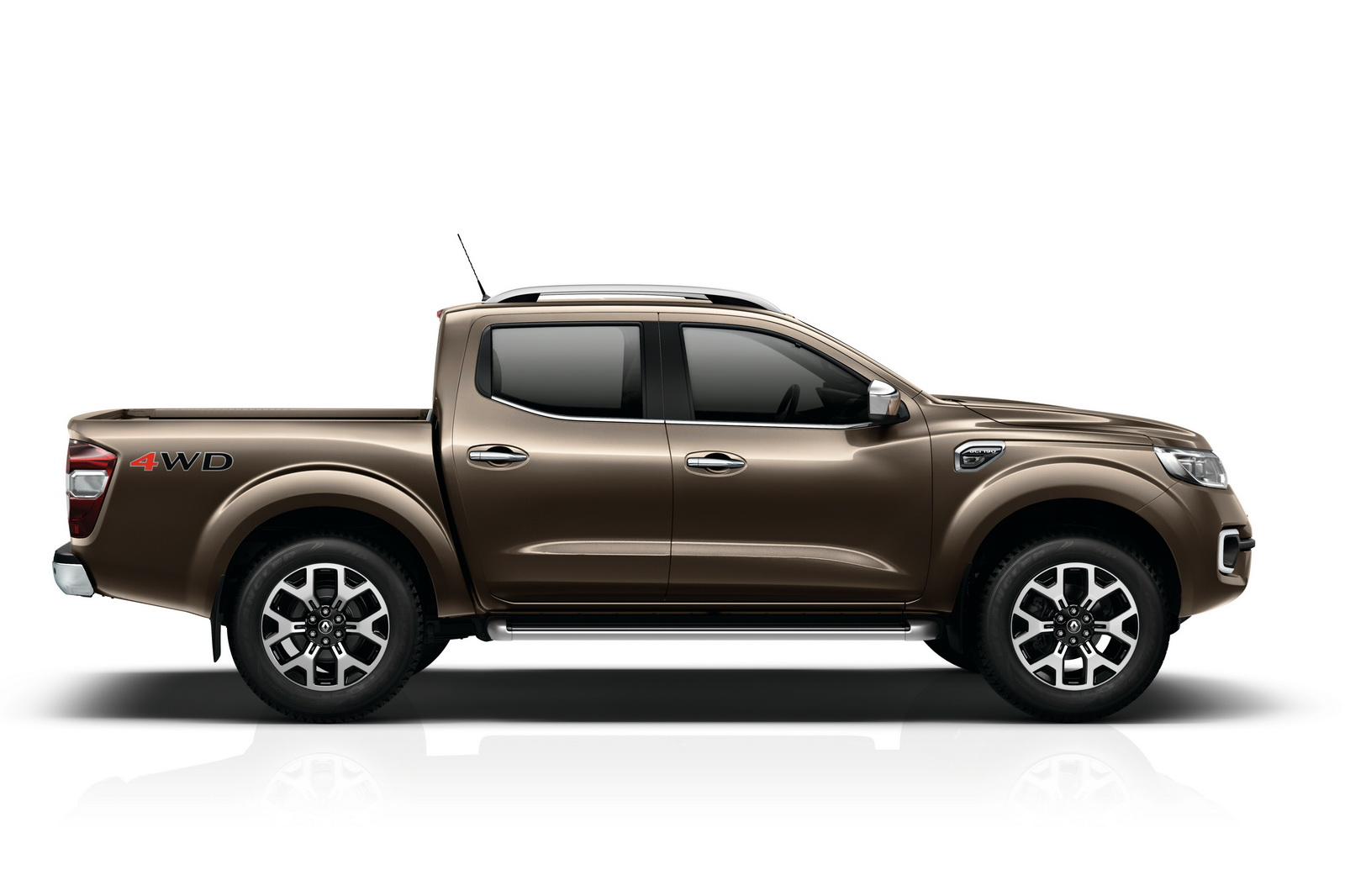 renault pulls the wraps off new alaskan pickup truck carscoops. Black Bedroom Furniture Sets. Home Design Ideas
