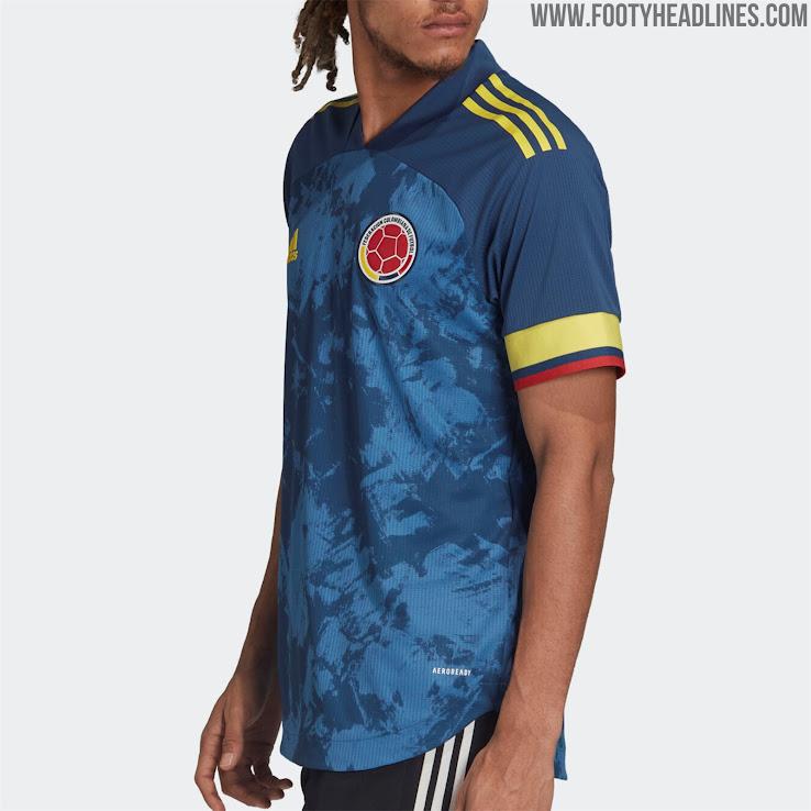 Colombia 2020 Copa America Away Kit Released - Footy Headlines