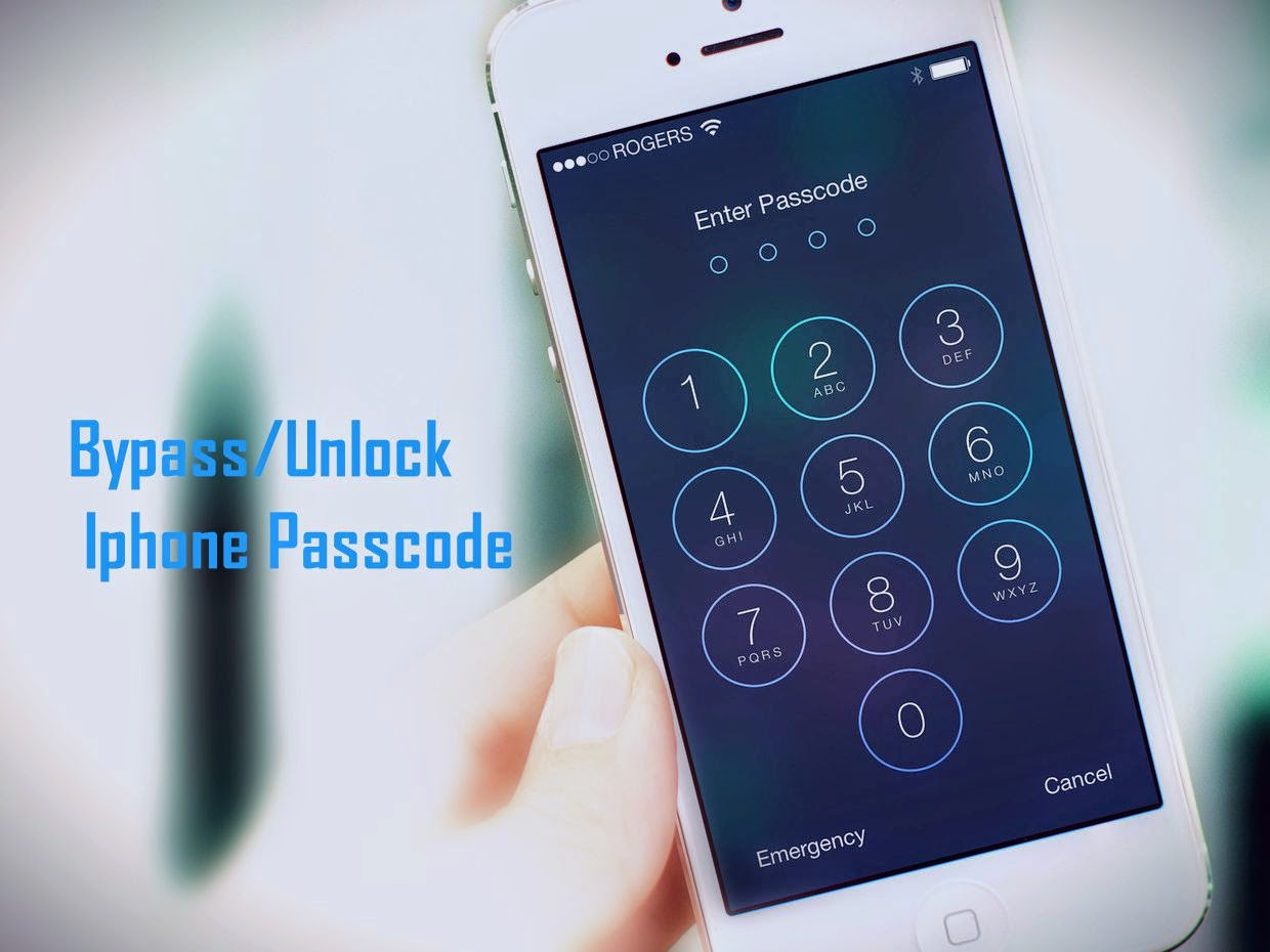 Unlock/Bypass iPhone Passcode - iPhone 6/6 plus/5/5c/5s/4/4s