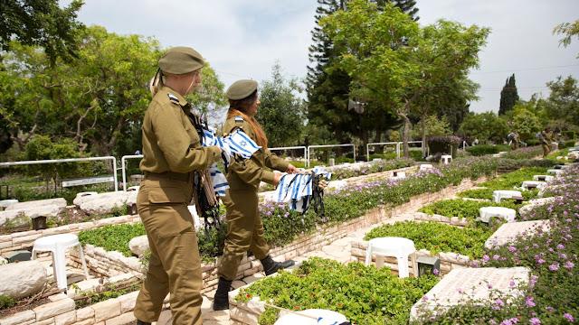 The Kiryat Shaul military cemetery in Tel Aviv.