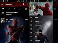 Download BBM Mod Spiderman HC Terbaru v3.2.5.12