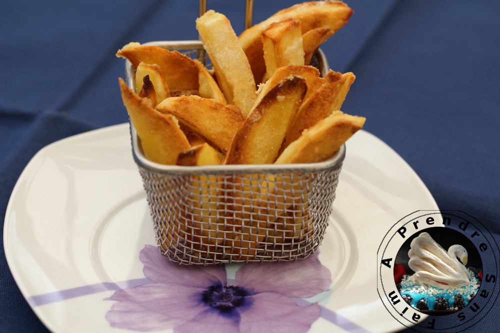 Frites au four croustillantes a prendre sans faim - Frites pour friteuse au four ...