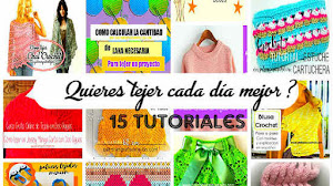 Perfecciona tus labores tejidas con 15 tips y tutoriales