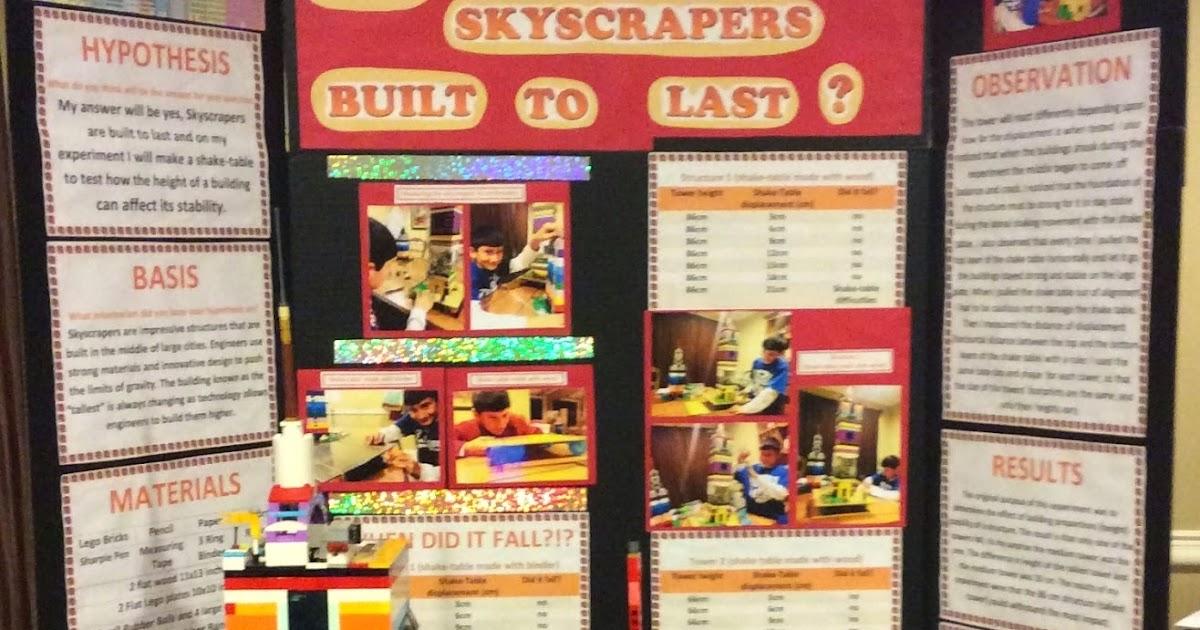 LEGO® Science Fair Project