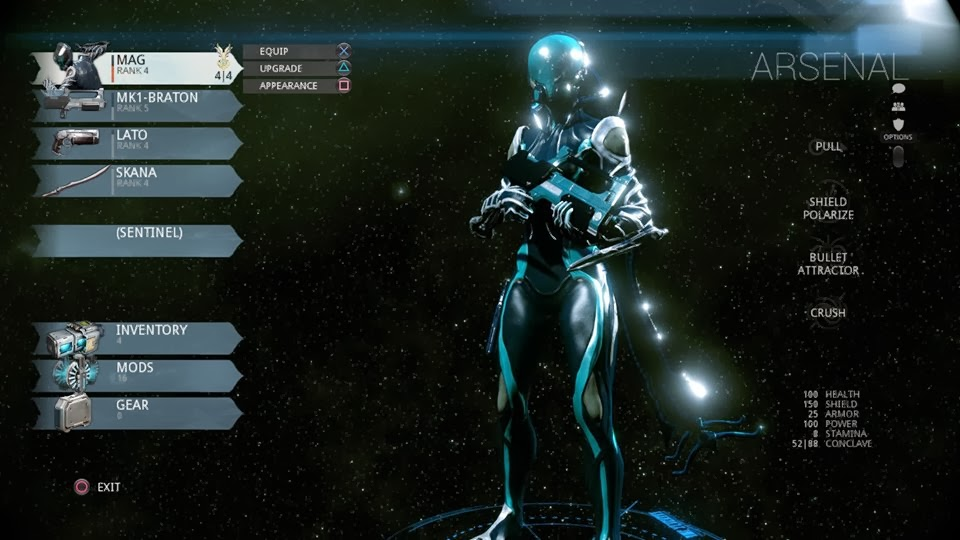 Dustin Of Blast Away The Game Review Warframe Review For Ps4