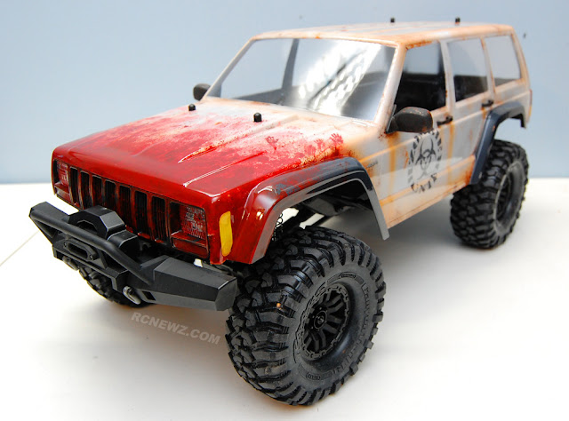 Traxxas TRX-4 custom paint