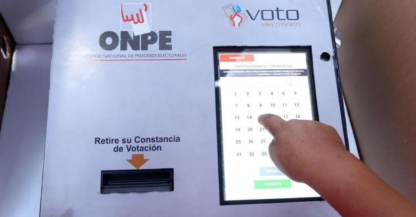 ONPE: En estos distritos de Lima y Callao habrá voto electrónico el domingo 7 de octubre - Elecciones Regionales y Municipales 2018 - www.onpe.gob.pe