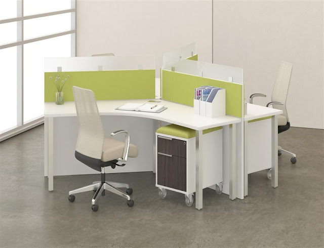 best buy white modern office furniture for rent
