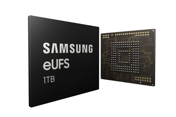 SAMSUNG announces World's first 1TB flash storage (eUFS 2.1) for next-generation smartphones