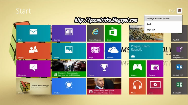 How to Make a Picture Password inwards Windows   How to Make a Picture Password inwards Windows 8