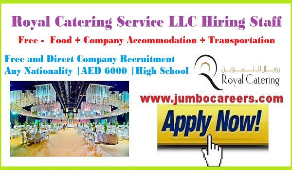 Latest Walk In Interview in Dubai by Royal Catering Service LLC