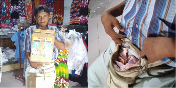 Man with disability sells buko salad, ice candy to earn a living