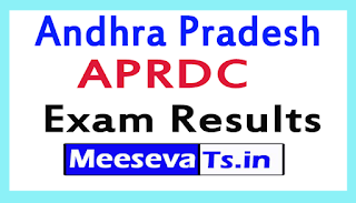 APRDC Exam Results Download 2017