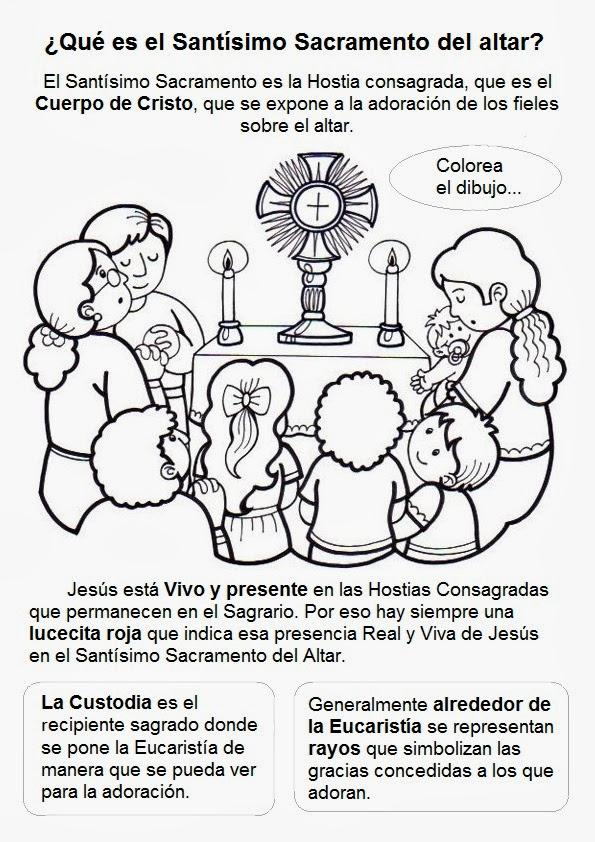 Rito Del Matrimonio Catolico Fuera De La Misa : Educar con jesús corpus christi y eucaristía