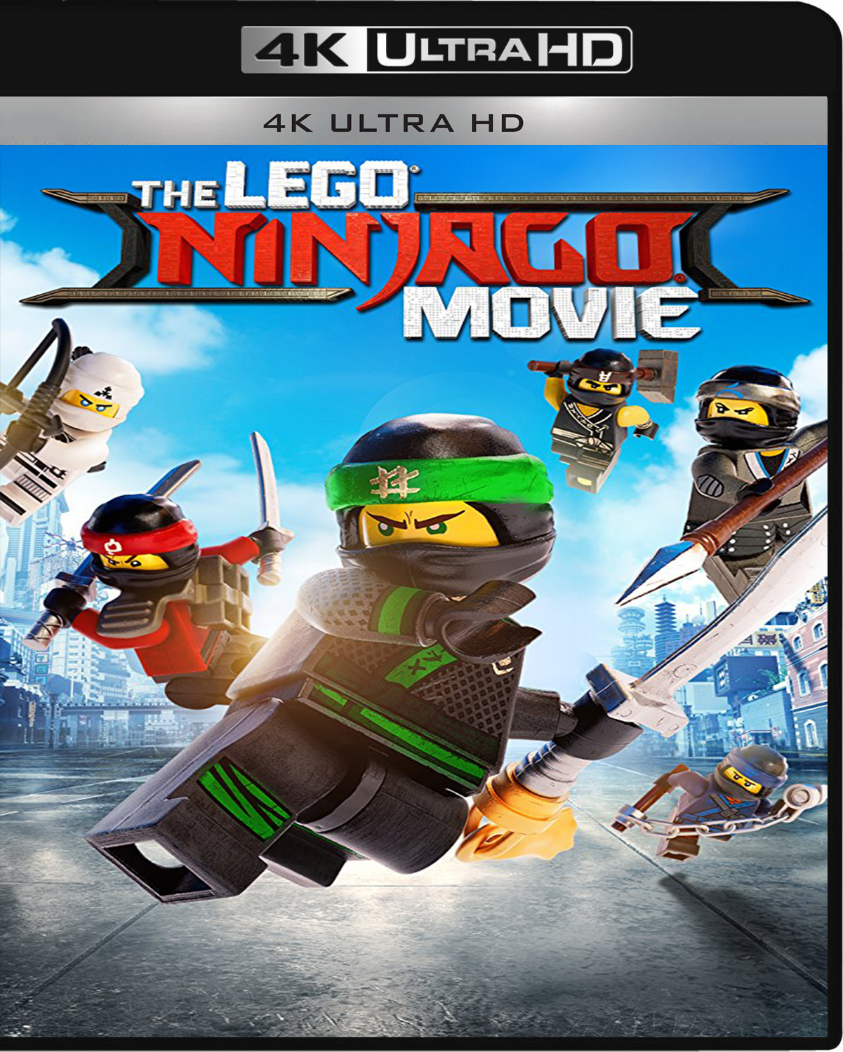The LEGO Ninjago Movie [2017] [UHD] [2160p] [Latino]