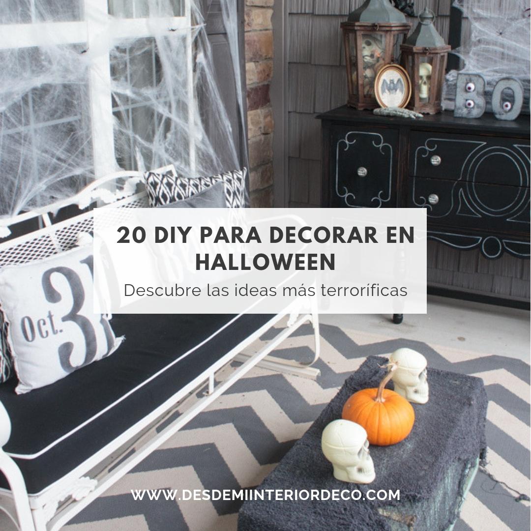 20 mejores diy para decorar en halloween fácil y lowcost