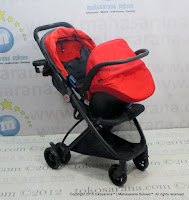 Cocolatte CL1008TS Ellum Travel System Baby Stroller