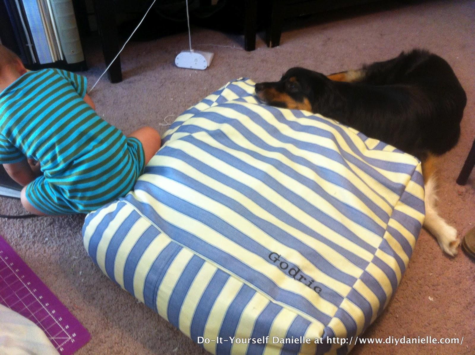 Diy Toddler Floor Pillow Diy Danielle