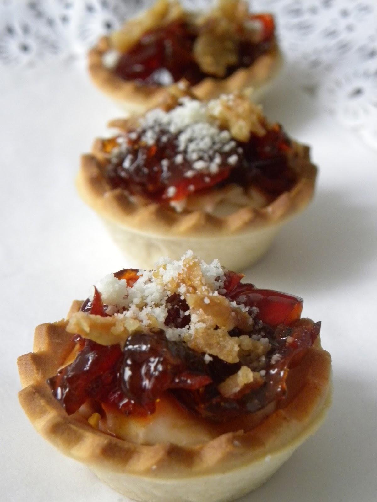 Trasteando en mi cocina tartaletas de pimientos confitados - Hacer mermelada de pimientos ...
