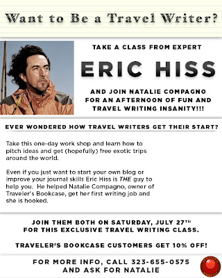 Want to Be a Travel Writer?